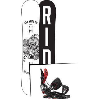 Set: Ride Burnout 2017 + Flow Fuse-GT (1718345S)