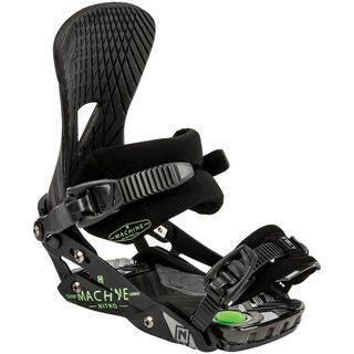 Nitro Machine 2015, black - Snowboardbindung