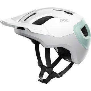 POC Axion SPIN, white/green - Fahrradhelm