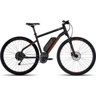 Ghost Hybride Square Cross 4 2017, black/orange - E-Bike