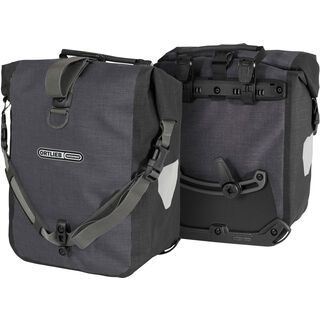 Ortlieb Sport-Roller Plus (Paar), granit-schwarz - Fahrradtasche