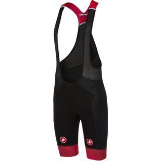 Castelli Free Aero Race Bibshort, black/red - Radhose
