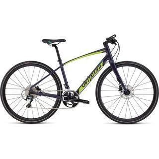 Specialized Vita Comp Disc 2016, indigo/green - Fitnessbike