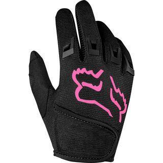 Fox Kids Dirtpaw Glove, black/pink - Fahrradhandschuhe