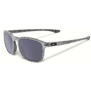 Oakley Enduro Fingerprint, polished white/Lens: grey - Sonnenbrille