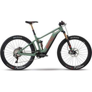 BMC Speedfox AMP LTD 2018, green/red - E-Bike