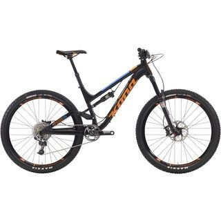 Kona Process 134 Supreme 2016, black/orange - Mountainbike