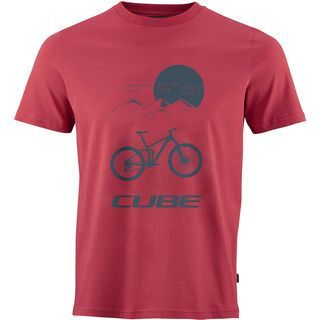 Cube T-Shirt Heritage, red