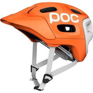 POC Trabec Race, orange-white - Fahrradhelm