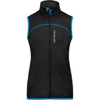 Ortovox Fleece Merino Vest Women, black raven - Fleeceweste