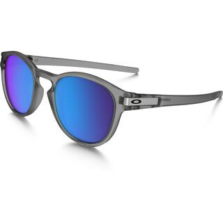 Oakley Latch, matte grey ink/Lens: sapphire iridium polarized - Sonnenbrille