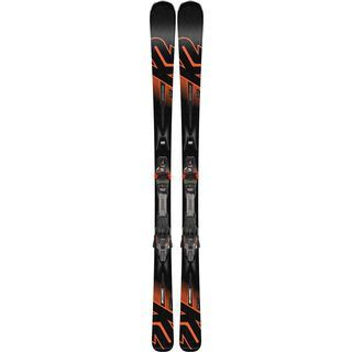 K2 SKI iKonic 84Ti 2019, schwarz orange - Alpinski