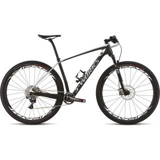 Specialized S-Works Stumpjumper HT Carbon World Cup 2015, Satin Carbon/White - Mountainbike
