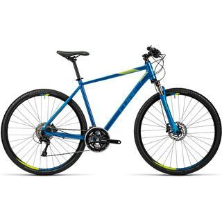 Cube Cross 2016, blue kiwi - Fitnessbike