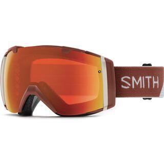 Smith I/O inkl. Wechselscheibe, adobe split/Lens: chromapop everyday red mirror - Skibrille