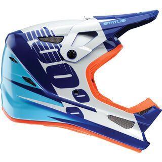 *** 2. Wahl *** 100% Status DH/BMX Helmet, kelton blue - Fahrradhelm   Größe M // 57-58 cm