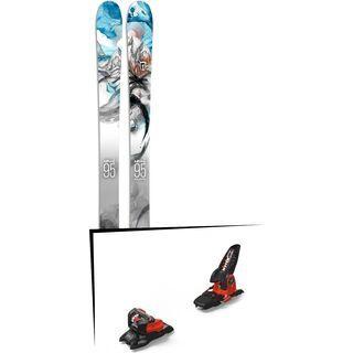 Set: Icelantic Nomad 95 2017 + Marker Jester 18 Pro ID (2319332)