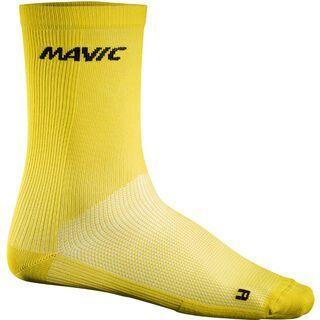 Mavic Cosmic High Sock, yellow - Radsocken