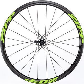 Zipp 202 Firecrest Tubular Disc-brake, schwarz/grün - Vorderrad