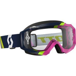 Scott Hustle MX, asymmetric dark blue/pink clear - MX Brille