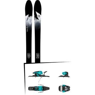 Set: Icelantic Sabre 99 2018 + Salomon Warden 11 turquoise/black