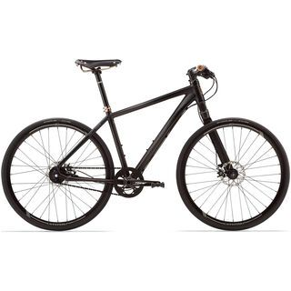 Cannondale Bad Boy 0 2014, schwarz matt - Urbanbike