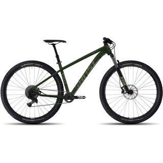 Ghost Asket 5 AL 2017, green/tan - Mountainbike