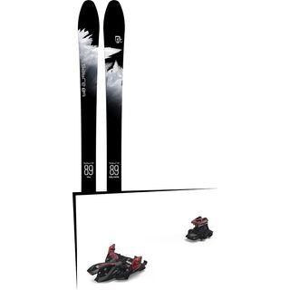 Set: Icelantic Sabre 89 2018 + Marker Alpinist 12 (2319300)