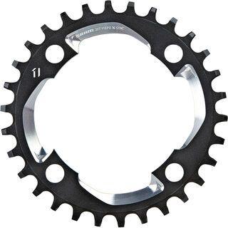 SRAM X01 X-Sync Kettenblatt - 1x11, schwarz-silber
