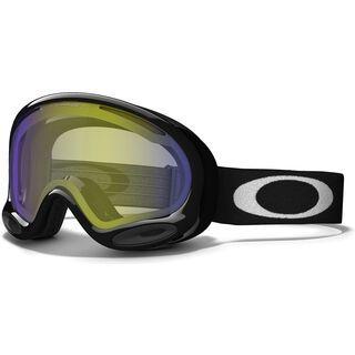 Oakley A Frame 2.0, Jet Black/H.I. Yellow - Skibrille