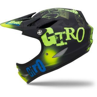 Giro Remedy, matte black/blue MC Hesher - Fahrradhelm