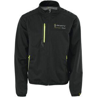 Scott Factory Team Softshell-Jacke, black/lime green - Softshelljacke