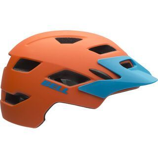 Bell Sidetrack Youth, matte orange - Fahrradhelm
