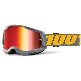 100% Strata, izipizi/Lens: red mirror - MX Brille