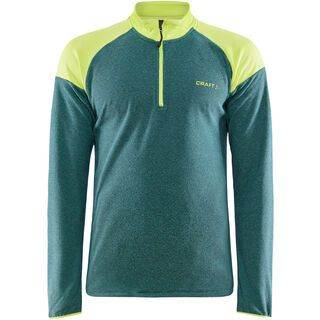 Craft Core Edge Thermal Midlayer M, point/scream - Fleecepullover