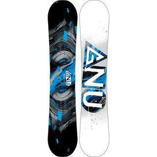 Gnu Carbon Credit Asym Wide 2017 - Snowboard
