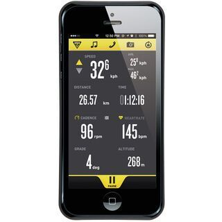Topeak RideCase iPhone 5 ohne Halter, black - Schutzhülle