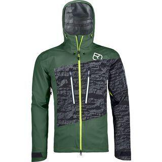 Ortovox 3L Merino Guardian Shell Jacket M, green forest - Skijacke