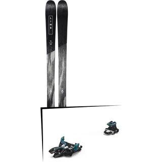 Set: Line Supernatural 86 2019 + Marker Alpinist 9 black/turquoise