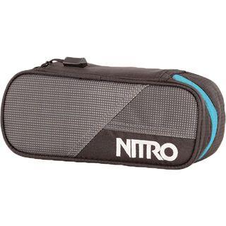 Nitro Pencil Case, blur blue trims