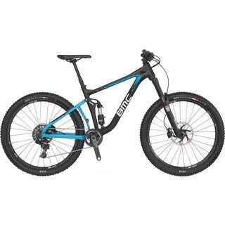 BMC Speedfox 02 Trailcrew X01 2016, black/blue - Mountainbike