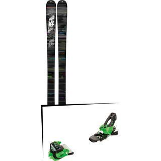 Set: K2 SKI Press 2018 + Tyrolia Attack² 11 GW green