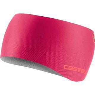 Castelli Pro Thermal W Headband, brilliant pink - Stirnband