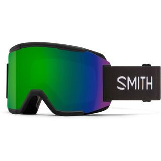 Smith Squad inkl. WS, black/Lens: cp sun green mir - Skibrille
