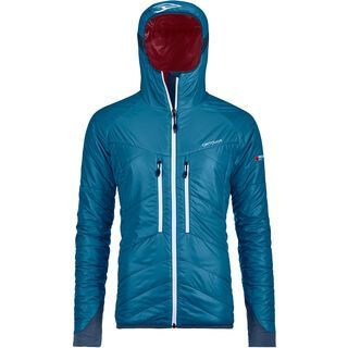 Ortovox Swisswool Light Tec Lavarella Jacket W, blue sea - Thermojacke