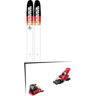 Set: K2 SKI Catamaran 2018 + Tyrolia Attack² 18 X GW red