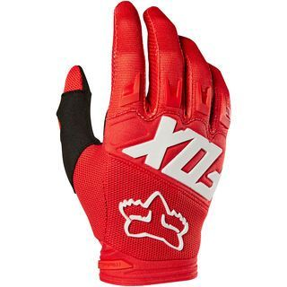 Fox Youth Dirtpaw Race Glove, red - Fahrradhandschuhe
