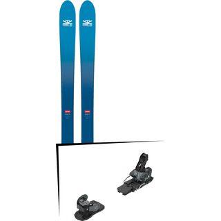 Set: DPS Skis Wailer F106 Foundation 2018 + Salomon Warden MNC 13 black/grey