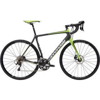 *** 2. Wahl *** Cannondale Synapse Carbon Disc 105 5 2017, carbon/green - Rennrad | Größe 61 cm