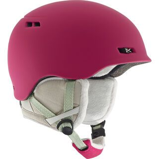 Anon Griffon, strawberry red - Snowboardhelm